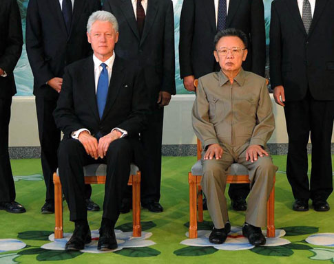 Bill Clinton visits North Korea in bid to free journalists Image5212246