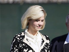 Elizabeth Smart leaves federal court after testifying Thursday at competence hearing for her alleged kidnapper, Brian David Mitchell