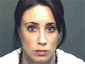 凯西安东尼逮捕照片,2008年9月15日。