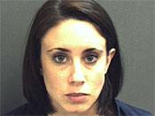 凯西安东尼逮捕照片,2008年10月14日。