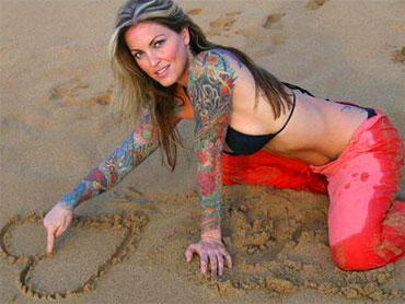 ... Star Wife Janine Lindemulder Battle Sandra Bullock for Custody of Kids