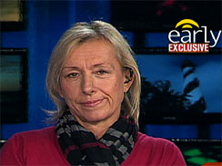 Martina Navratilova on