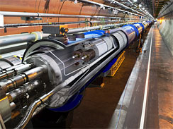 Particle beams are once again circulating in the world's most powerful particle accelerator, the Large Hadron Collider, after more than a year of repairs.