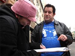 John Marcotte the man seeking to ban gay marriage