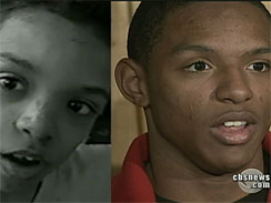 Tre'Shawn, before and now.