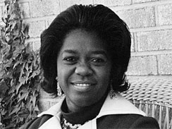 Juanita Goggins is seen in a 1974 file photo in Rock Hill, S.C. Goggins was the first black woman elected to the the South Carolina Legislature in 1974, and was hailed as a trailblazer at the time. Three decades later, Goggins died alone and freezing in the home she rented for 16 years, just four miles from the gleaming Statehouse dome.