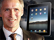 Norway PM Governs with the iPad + get a FREE iPad! image at car games rpm