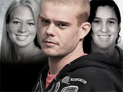 Natalee Holloway, left, Joran van der Sloot, Stephany Flores