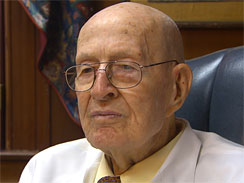 Dr. Walter Watson, 100-years old, has delivered 18,000 babies in  Augusta, Georgia.