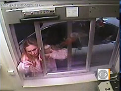 Video shows woman smashing window over McNuggets