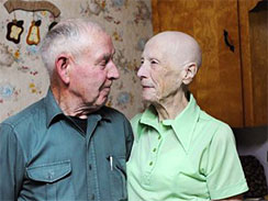 Allen and Violet Large (AP Photo/Halifax Chronicle Herald via the The Canadian Press, Michael Gorman)
